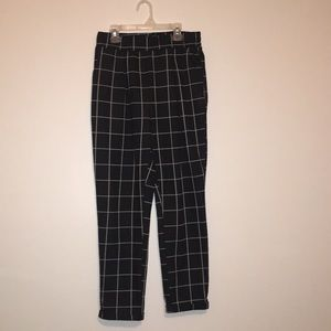 Pants - Grid patterned pants, urban planet